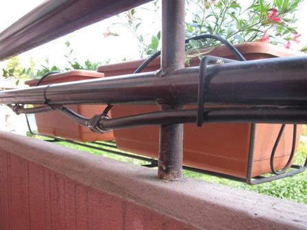 Irrigazione appartamento terrazzo balcone senza rubinetto - Irrigazione balcone ...